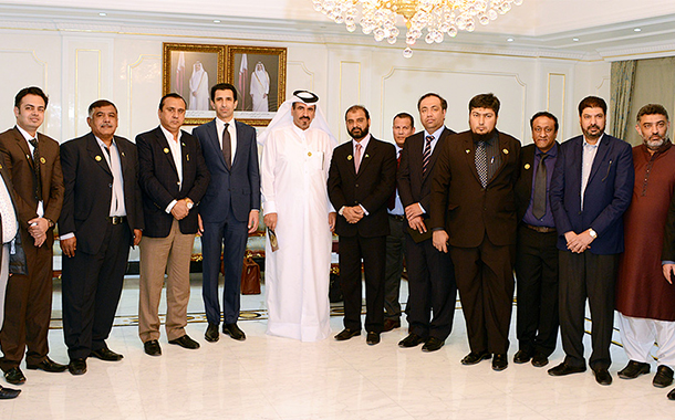 Pakistani delegation visits QC