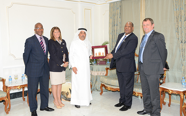 QC receives a trade delegate from Botswana