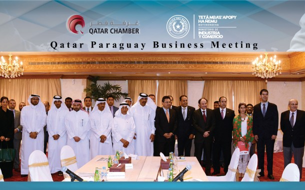 Qatar Chamber reviews economic ties with Paraguay