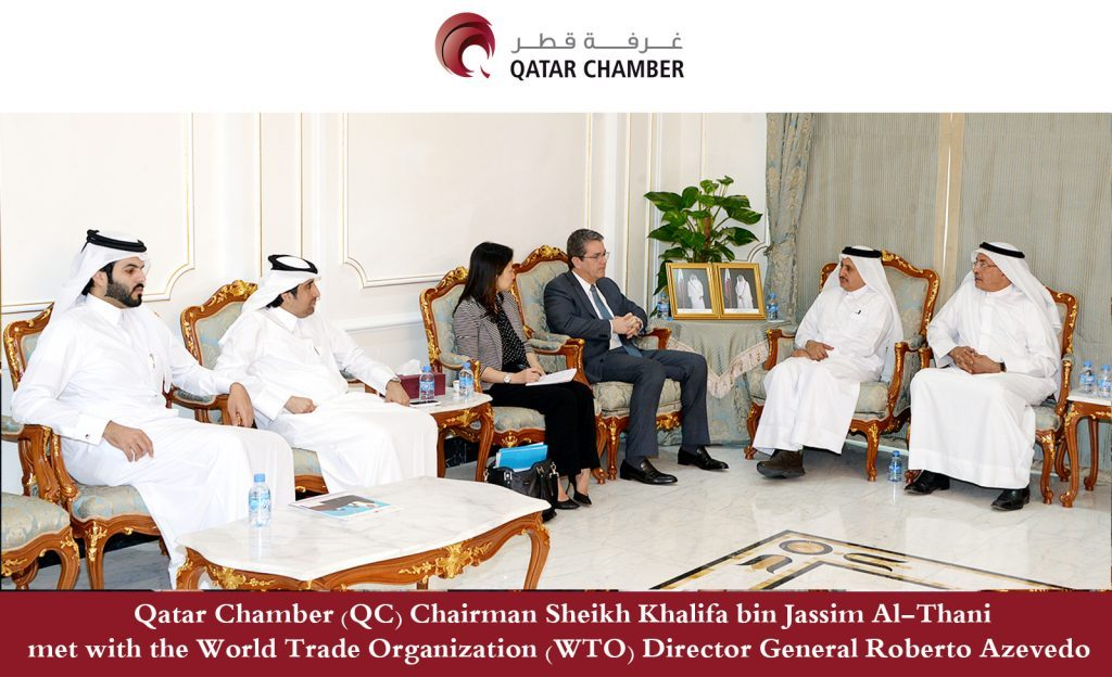 QC Chairman meets WTO Director-General
