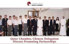 Qatar Chamber, Chinese Delegation Discuss Promoting Partnerships