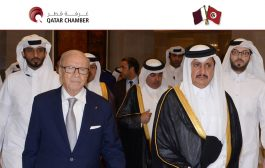 Tunisian President meets Qatari businessmen