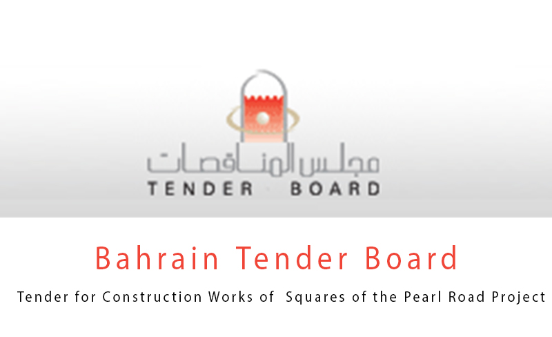 Tender for Construction Works of  Squares of the Pearl Road Project