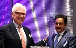 Qatar Chamber chairman receives ICC 'Merchant of Peace' award