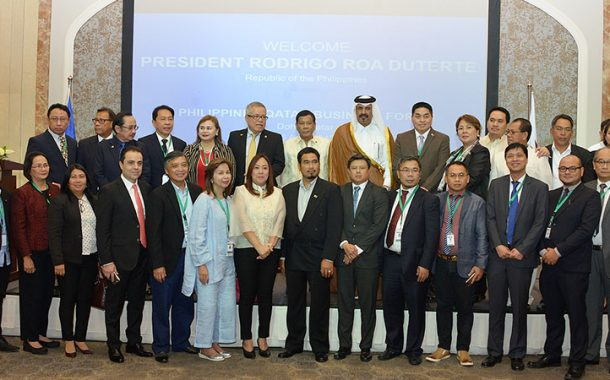 Philippine investment climate ideal for Qatari businessmen: Duterte