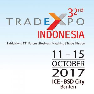 32nd Trade Expo Indonesia @ Indonesia Convention Exhibition (ICE) | Banten | Indonesia