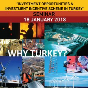 """Investment Opportunities & Investment Incentive Scheme in Turkey"" Seminar @ Doha Exhibition and Convention Center - DECC 