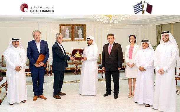 Greek delegation visits QC