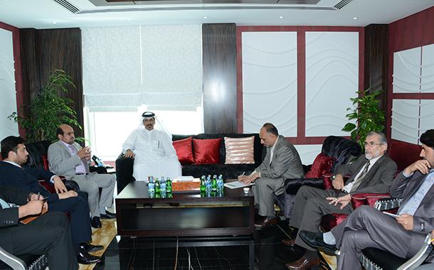 QC discuss Afghani  manpower affairs  in Qatar