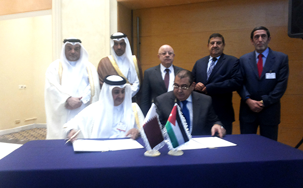 Qatar-Jordan Joint Business council to be launched.
