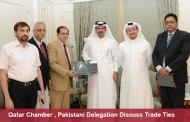 Qatar Chamber , Pakistani Delegation Discuss Trade Ties