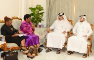 Botswana FM visits Qatar Chamber