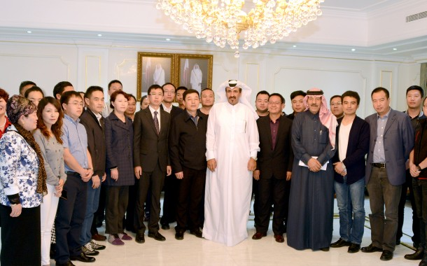 Chinese business delegation visits Qatar Chamber