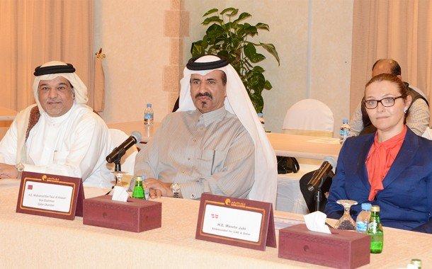 Qatar Chamber Hosts Danish Businessmen Team