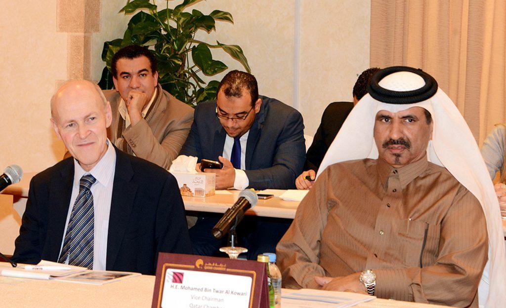 غرفة قطر تستقبل وفد بريطاني تعليمي