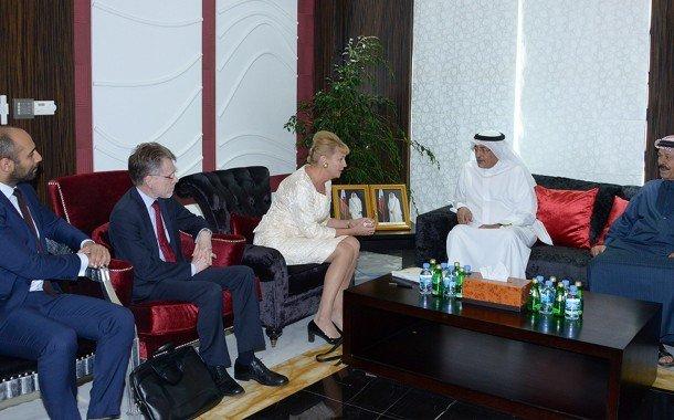 QC receives Swedish business delegation