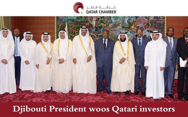 Djibouti President woos Qatari investors