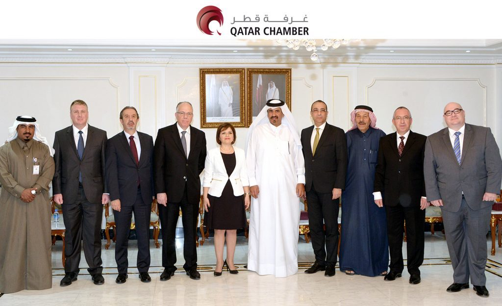 Northern Cyprus FM visits Qatar Chamber