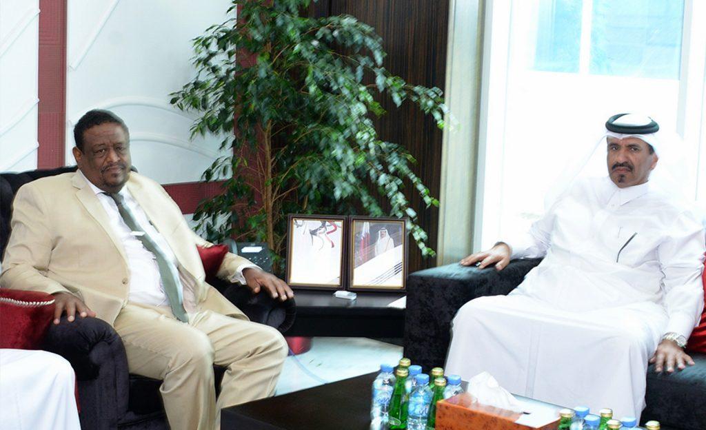 بن طوار يلتقي امين عام غرفة الصادرات السودانية