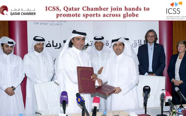 ICSS, Qatar Chamber join hands to promote sports across globe