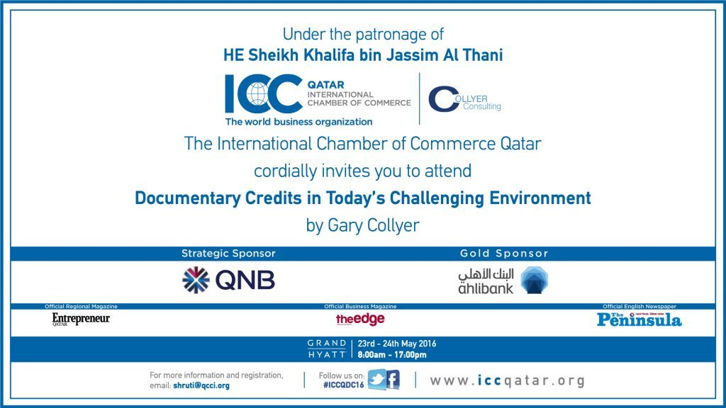 Icc Qatar To Organize Its First Banking Workshop Qatar Chamber
