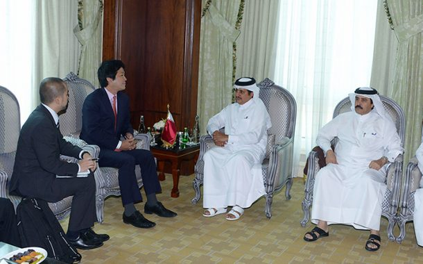 Qatar, Japan economic ties reviewed