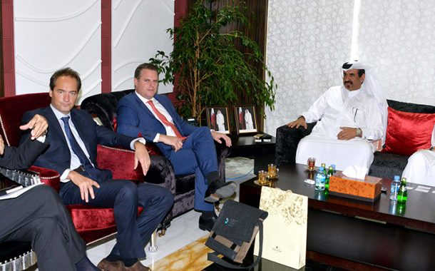 Qatar Chamber Discusses Cooperation with Swiss Delegation