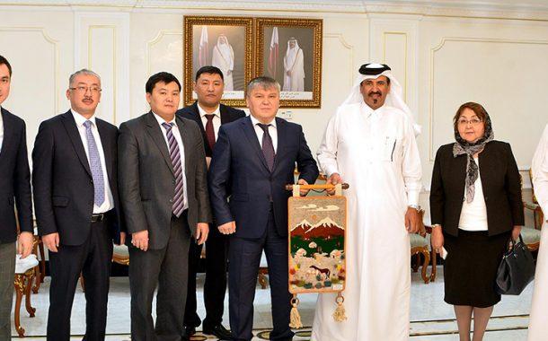 Kyrgyz Minister of Economy Praises Qatar's Development