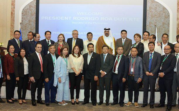 Philippine investment climate ideal for Qatari businessmen: Duterte