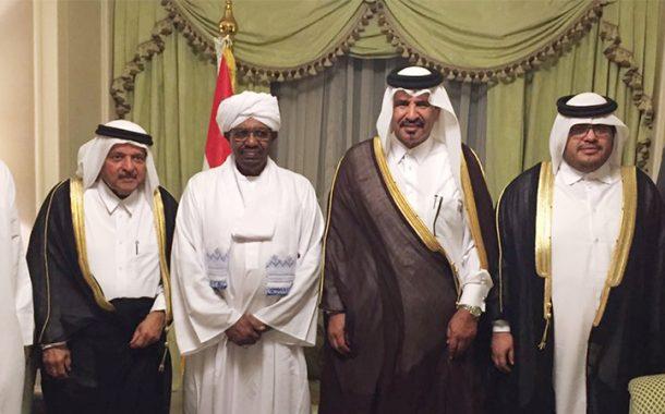 البشير يدعو رجال الأعمال القطريين للاستثمار في السودان