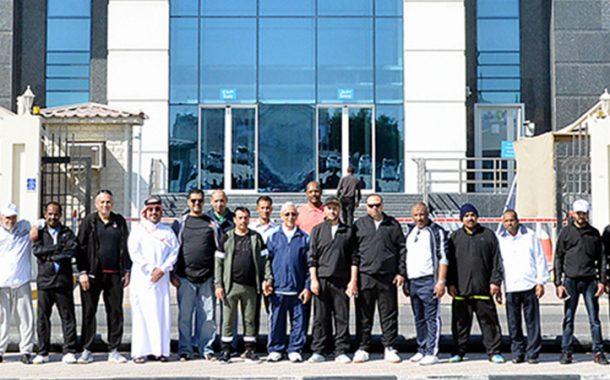 رجال الأعمال وقيادات وموظفو غرفة قطر يشاركون باليوم الرياضي