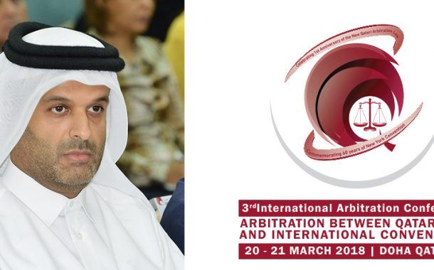 3rd International Arbitration Conference to begin in Doha on March 20