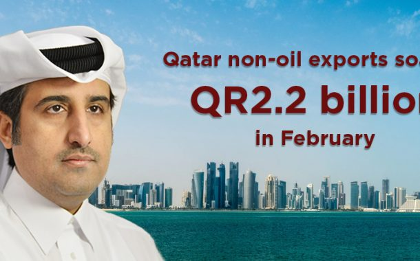 Qatar non-oil exports soar to QR2.2 billion in February
