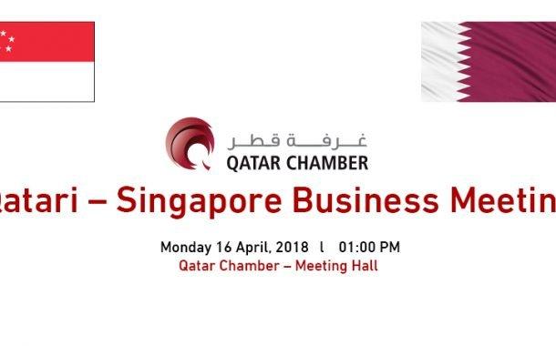 Qatari – Singapore Business Meeting