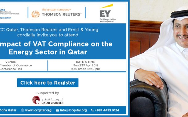"""The Impact of VAT Compliance on the Energy sector in Qatar""  seminar to kick off at QC on April 23"