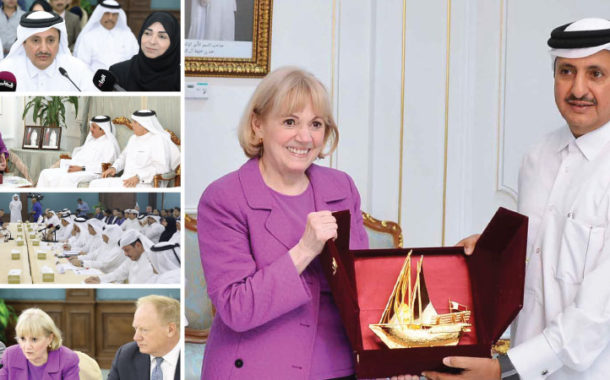 QC Discusses Empowering SMEs with US-Qatar Business Council