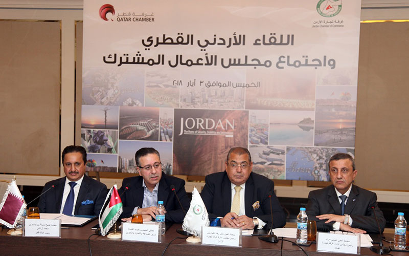 Qatari-Jordanian-Economic-Meeting-001