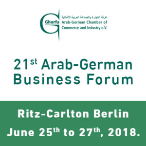 21st Arab-German Business Forum @ The Ritz-Carlton, Berlin | Berlin | Berlin | Germany