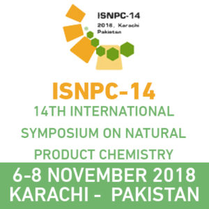 14th International Symposium on Natural Product Chemistry ISNPC-14 @ HEJ Research Institute of Chemistry - International Center for Chemical and Biological Sciences | Karachi | Sindh | Pakistan