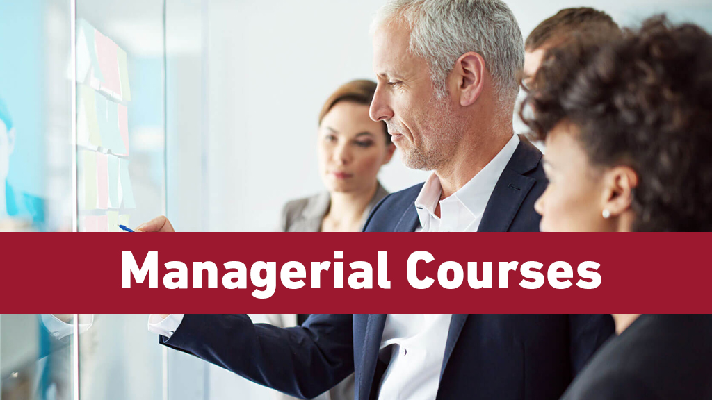 Managerial Courses
