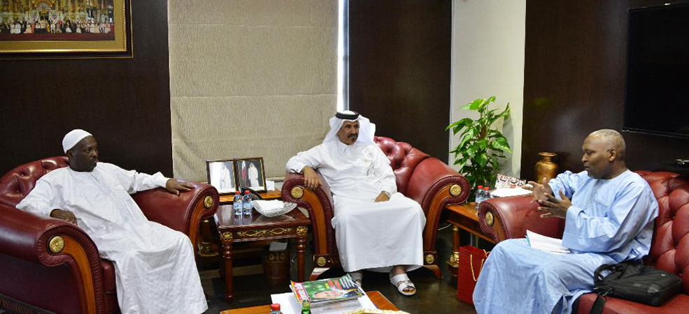 CAR delegation visits Qatar Chamber