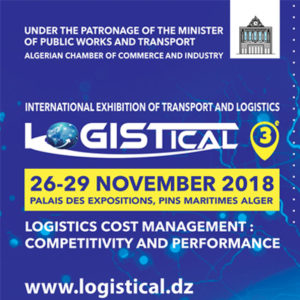 International Exhibition of Transport & Logistics (LOGISTICAL 2018) @ Marine pine Exhibition Palace | Algeria