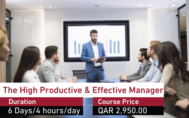 The High Productive & Effective Manager