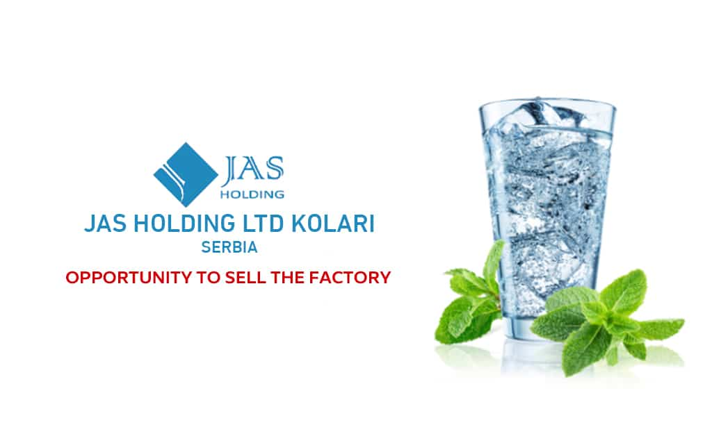 Minral Water bottling | Opportunity to sell the factory