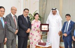 اتحاد الغرف النيبالية يبحث العلاقات التجارية مع غرفة قطر