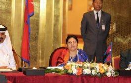 الرئيسة النيبالية تدعو رجال الاعمال القطريين الى الاستثمار في بلادها