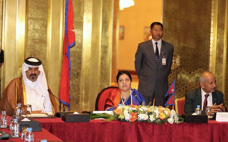 Nepals-president-urges-Qatari-001
