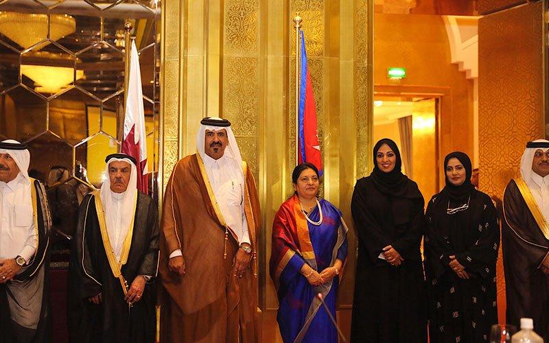 Nepals-president-urges-Qatari-002