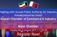Meeting with: Kuwait Public Authority for Industry,  Kuwait Industries Union