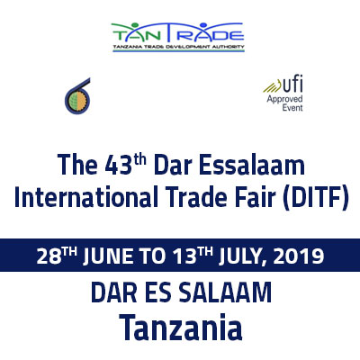 43RD DAR ES SALAAM INTERNATIONAL TRADE FAIR 2019.